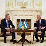 Елбасы Өзбекстан Республикасының Президенті Ислам Кәрімовпен кездесті