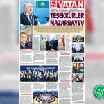 «Сеңді бұзған Н.Назарбаевқа рақмет!»
