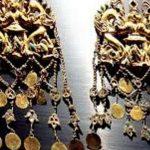 Украинада Сақтардың алтын бұйымдары табылды