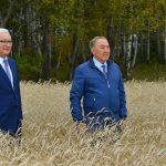 Нұрсұлтан Назарбаев: «Солтүстік Қазақстан – астық өндірудің үздік өңірі»