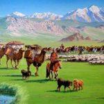 Төскейде малы мыңғырған Моңғолия (Фото)