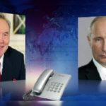 Путин Астана процесі үшін Назарбаевқа алғыс айтты
