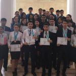 ОҚО оқушылары Білім Олимпиадаларында 81 жүлделі орынға ие болды