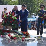 ОҚО-да Жеңістің 72 жылдығына орай өткен «Қаһарман Ұлт»шеруіне 1500-ден астам  азамат қатысты