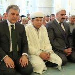 Түркияның бұрынғы басшысы «Әзірет Сұлтан» мешітіндегі Жұма намазына қатысты