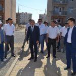 Түркістанда жаңа шағын аудан бой көтеріп келеді