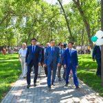 ОҚО-да Астана күні қарсаңында саябақ ашылды