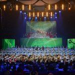 Астанада «ЭКСПО-ға Оңтүстіктен ән шашу!» гала-концерті өтті