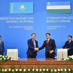 ОҚО әкімі Ж.Түймебаев Өзбекстанныңүшоблыс әкімімен меморандумға қол қойды