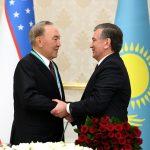 «Мен сізді мақтан тұтамын!» — деді өзбек президенті Шавкат Нұрсұлтан ағасына