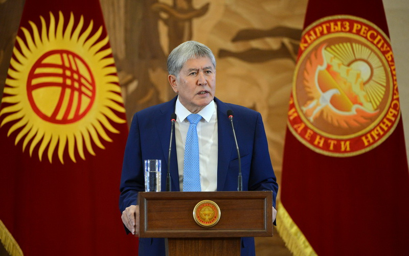 Қырғызстан: А.Атамбаев қатты кетті, неге?