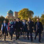 Форумға келген қытайлық делегация Түркістанға барды
