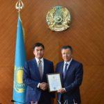 Оңтүстік Қазақстан Облысы әкімі Ғ.Әбдірахымовтың жаңа қызметіне табыс тіледі