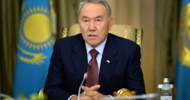 Назарбаевтың «президенттің бес әлеуметтік бастамасы» атты халыққа үндеуі