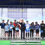 {:kk}В ЮКО прошел международный велопробег, посвященный году Узбекистана в Казахстане{:}{:ru}В ЮКО прошел международный велопробег, посвященный году Узбекистана в Казахстане{:}