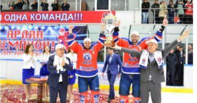 Көкшетаулық «Арлан» ел чемпионы.