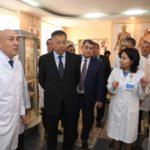 Ж.Түймебаев медицина академиясының құрамымен және студент жастармен кездесті