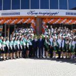 ОҚО әкімі Н.Назарбаев зияткерлік мектебініңсоңғы қоңырау шарасына қатысты
