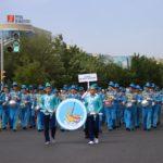 Многотысячным парадом музыкальных оркестров отметили в Атырау 1-го июня