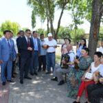 ОҚО: Астананың 20 жылдығына орай Шымкентте «Қошқар-ата» демалыс аймағы ашылды