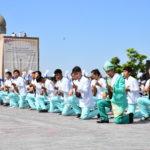 Түркістан облысында бір мезетте 3000 домбырашы күй орындады