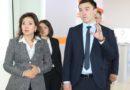 Павлодарда Еңбек министрі Мәдина Әбілқасымоваға электронды еңбек биржасы көрсетілді