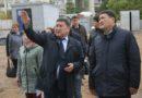 Болат Бақауов Ақсу қаласындағы құрылыс жұмыстарының барысымен танысты