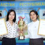 Қыздар Университетінің студенттері республикалық турнирдің жеңімпазы атанды