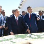 Елбасы Түркістан қаласының жаңа әкімшілік орталығының даму жобасымен танысты