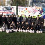 Павлодар облысында 36 мектепке футбол доптары табыс етілді