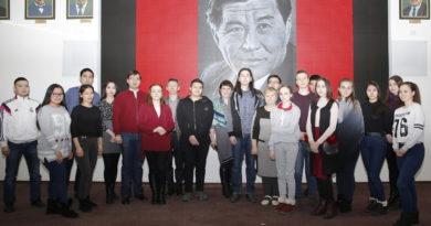 Павлодар мемлекеттік университетінде  Шәкен Аймановтың 105 жылдық меретойына арналған іс-шара өтті
