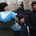 Павлодарда алғашқы көп балалы отбасы Успен ауданына қоныс аударды