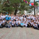Павлодар облысында жазғы тілдік лагерьдің қатысушылары ағылшын тілін үйренеді