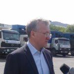Павлодарлықтар Арыс тұрғындарына 90 тонна гуманитарлық көмек жөнелтті