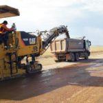 «Меркі–Бурылбайтал» (7-273 км) автожолын қайта жаңарту жұмыстары жайында