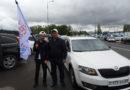«Ақ жол» партиясынан үміткер Дания Еспаеваны қолдау үшін еліміздің ірі қалаларында автосайыс өтті