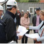 Елорда әкімі Алтай Көлгінов үлескерлік құрылыстың проблемалы нысандарын аралады