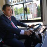 Павлодарда электробустар,  жаңа автобустар мен трамвайлар жүре бастады