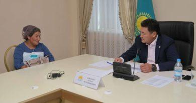 Павлодар облысының әкімі азаматтардың жеке қабылдауын өткізді