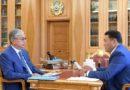 ҚР Президенті Павлодар облысының әкімін қабылдады