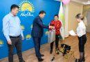 Павлодарда мүгедек балаларға арбалар берілді