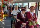 Павлодарда ерекше поэтикалық трамвай жолға шықты