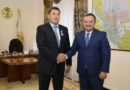 Павлодар облысының әкіміне «Үздік әлеуметтік әріптес» белгісі табысталды