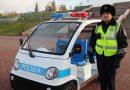 Павлодарда патрульдік электромобильдер жүре бастады
