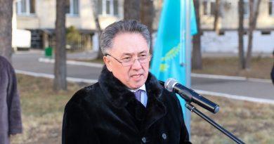 Павлодар мемлекеттік педагогикалық университетінде «Менің туым – менің Отаным» патриоттық акциясы өтті
