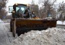 Павлодар облысының қар тазалаушылары тәулік бойы жұмыс істейді