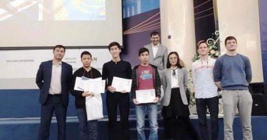 Павлодарлық оқушылар XI Еуразиялық олимпиадада жеңіске жетті