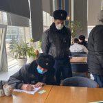 Елордалық еріктілер полицияға карантин режимін бұзу бойынша тексеру рейдтерін жүргізуге көмектесуде