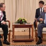ҚР Президенті Пан Ги Мунмен кездесті