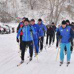 Солтүстікте республикалық шаңғы марафоны өтті